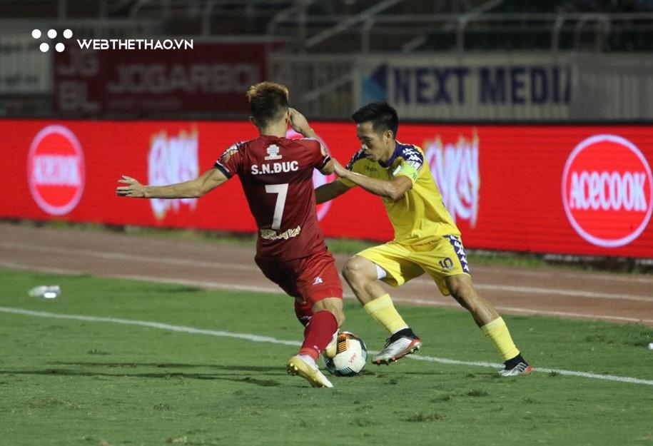 Link xem trực tiếp TPHCM vs Hà Nội, bóng đá V.League 2021