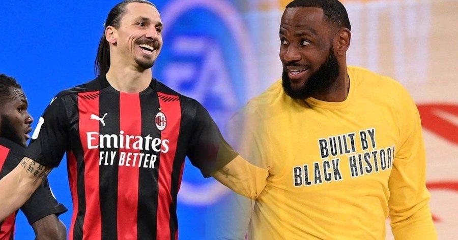 Bị LeBron James phản pháo, Zlatan Ibrahimovic nhẹ nhàng giải thích