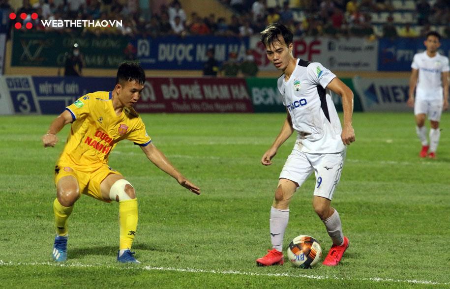 Link xem trực tiếp HAGL vs Nam Định, bóng đá V.League 2021