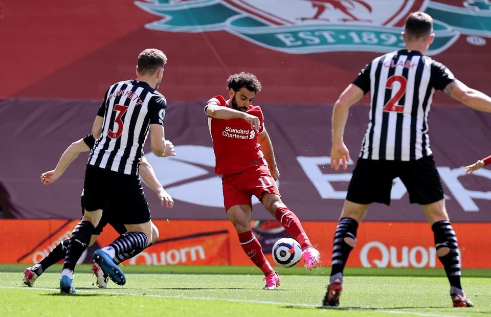Salah lập cột mốc ghi bàn đặc biệt cho Liverpool ở Ngoại hạng Anh