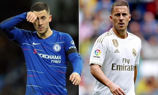 Hazard sa sút như thế nào ở Real Madrid so với Chelsea?