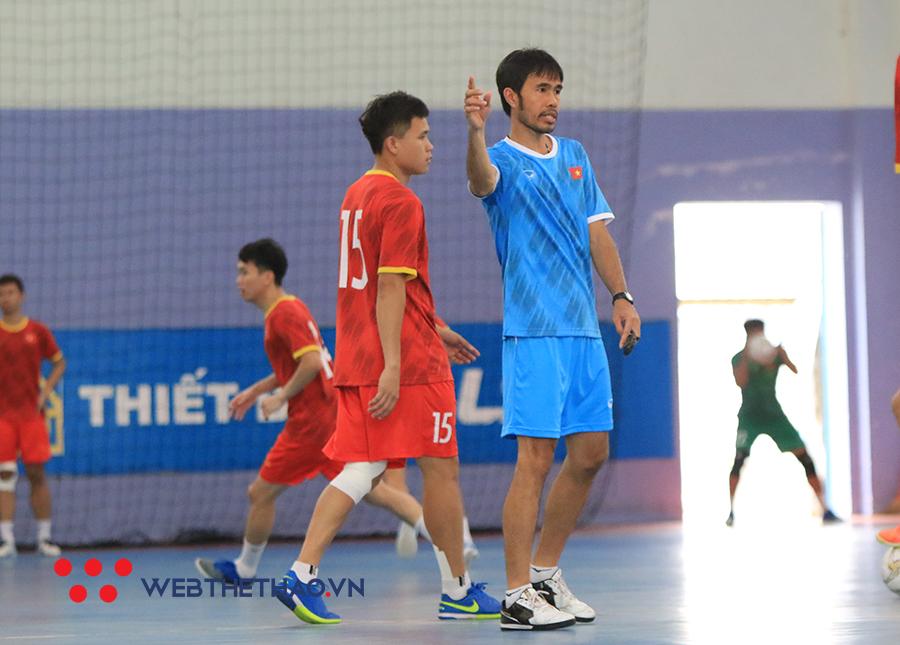 Futsal Việt Nam vs Lebanon trực tiếp kênh nào?