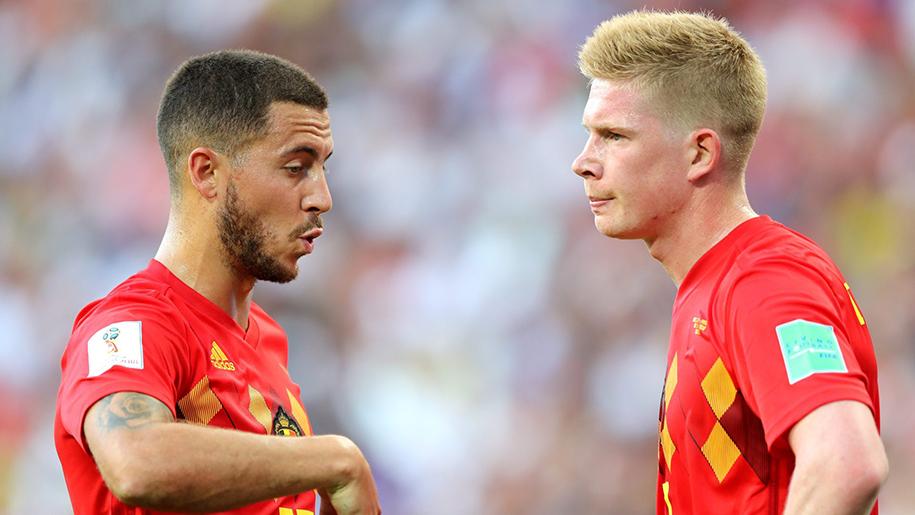 Cập nhật tình hình chấn thương ĐT Bỉ: Kevin De Bruyne và Eden Hazard liệu có ra sân?
