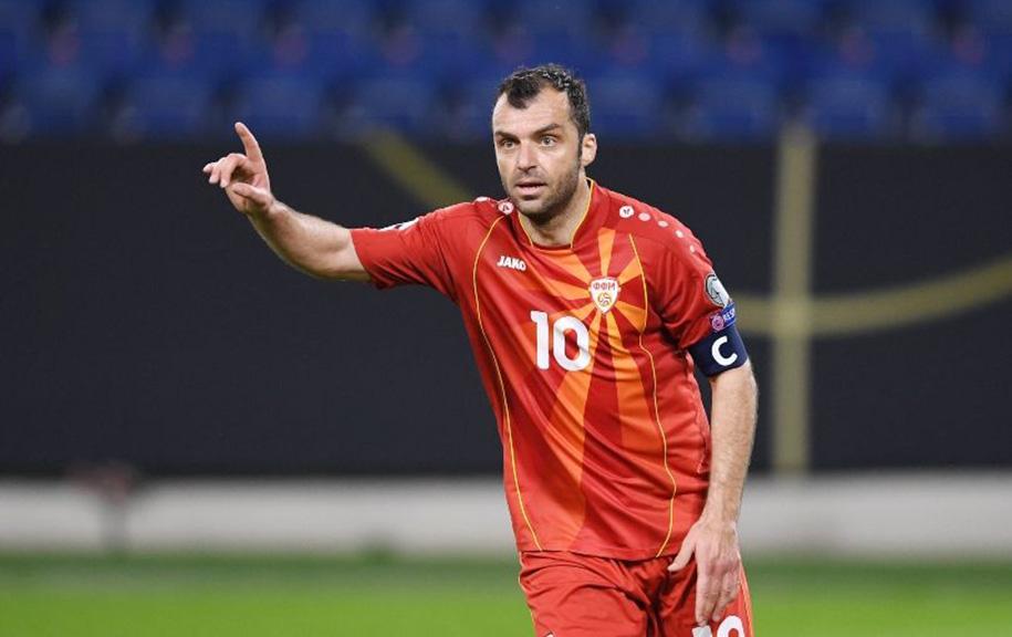 Goran Pandev: Người đội trưởng tinh thần của xứ Macedonia