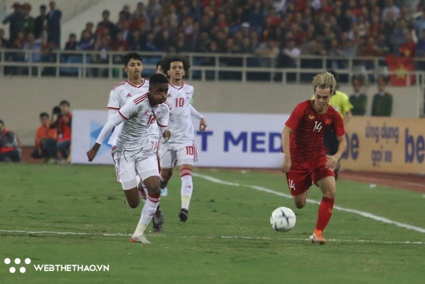 Lịch sử đối đầu Việt Nam vs UAE trước lượt về vòng loại World Cup 2022