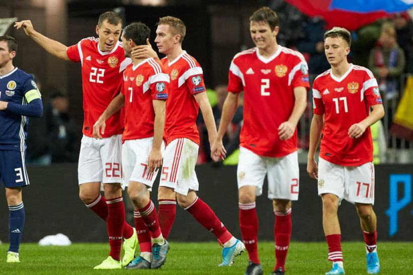 """Đội hình ra sân dự kiến Phần Lan vs Nga: """"Lão tướng"""" Zhirkov nghỉ hết giải"""