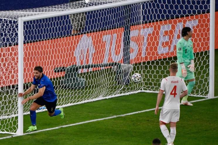 Kết quả Italia vs Thụy Sỹ: Cơn lốc màu… Thiên thanh