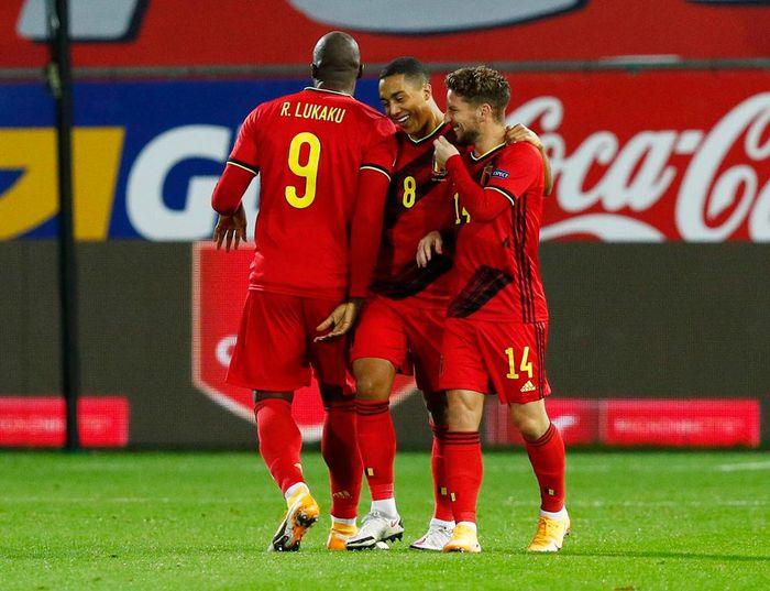 Đội hình ra sân Đan Mạch vs Bỉ: Braithwaite đấu Lukaku