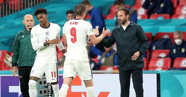 Harry Kane phản ứng gì khi bị thay ra trong trận Anh vs Scotland?