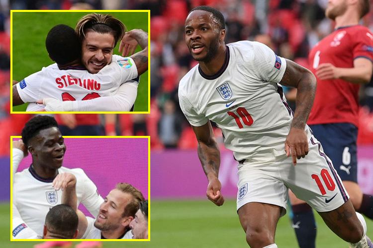 3 tiền vệ công tuyển Anh được chấm điểm cao nhất trận thắng Séc