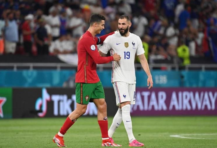 Kết quả Bồ Đào Nha vs Pháp: Ronaldo gọi, Benzema trả lời