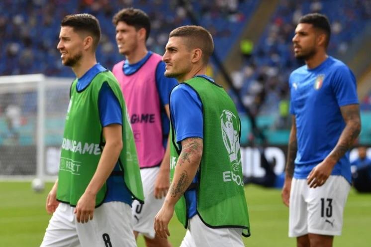 Đội hình ra sân Ý vs Áo: Acerbi, Verratti đá chính