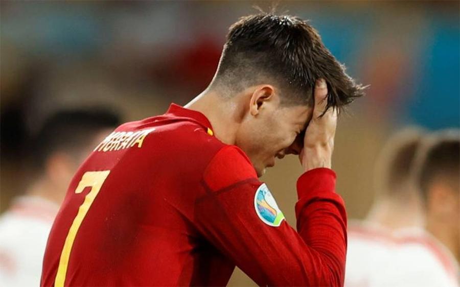 Gia đình Morata bị khủng bố vì phong độ không tốt ở EURO 2021