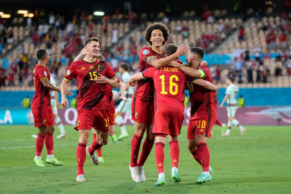 Kết quả Bỉ vs Bồ Đào Nha: Thorgan Hazard đưa Bỉ vào tứ kết