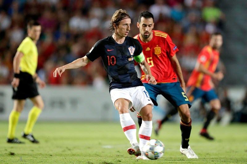 Nhận định, dự đoán bóng đá Croatia đấu với Tây Ban Nha