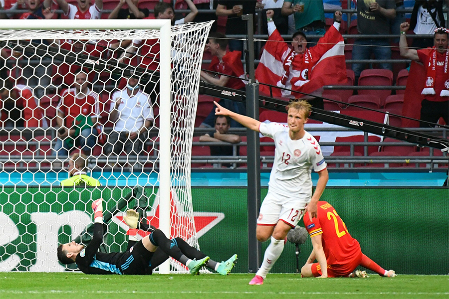 5 điểm nhấn quyết định chiến thắng của Đan Mạch trước Wales