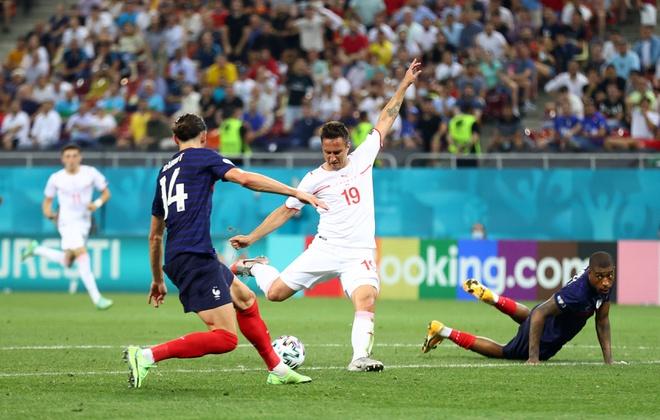 Video Highlight Pháp vs Thụy Sỹ, vòng 1/8 EURO 2021