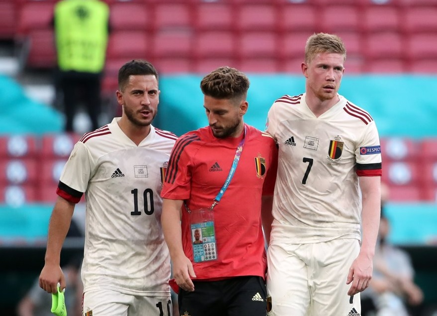 Đội hình ra sân dự kiến Bỉ vs Ý: Hazard và De Bruyne không chắc chắn ra sân