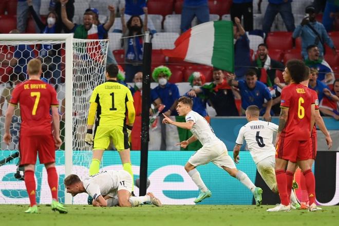 Video Highlight Bỉ vs Ý, tứ kết EURO 2021