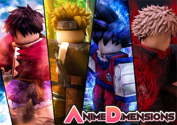 Code Anime Dimensions 2021 mới nhất trên Roblox