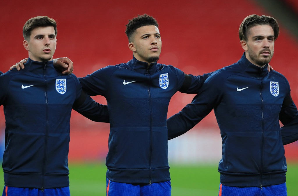Đội hình ra sân Ukraine vs Anh: Sancho lần đầu đá chính