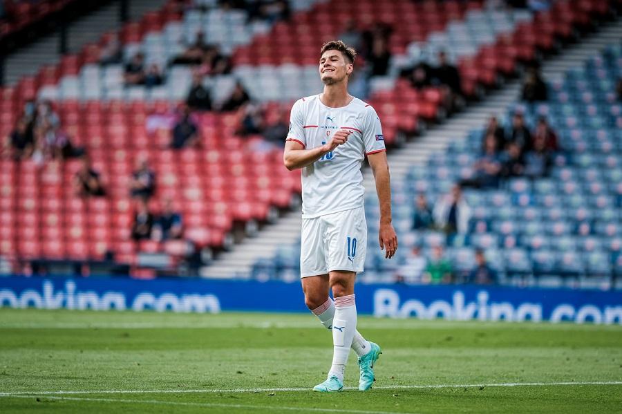 Đội hình ra sân CH Séc vs Đan Mạch: Schick đọ súng Dolberg