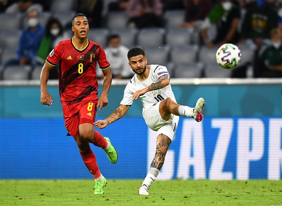 Những điểm nhấn trong chiến thắng của Italia trước Bỉ