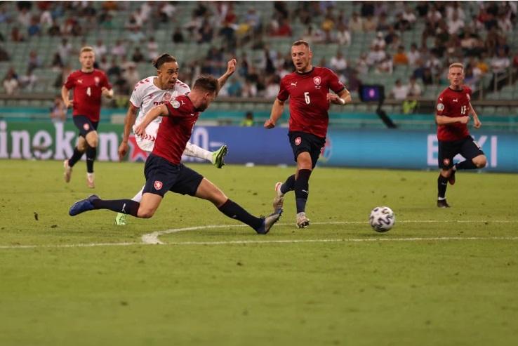 Kết quả CH Séc vs Đan Mạch: 'Những chú lính chì' vào bán kết