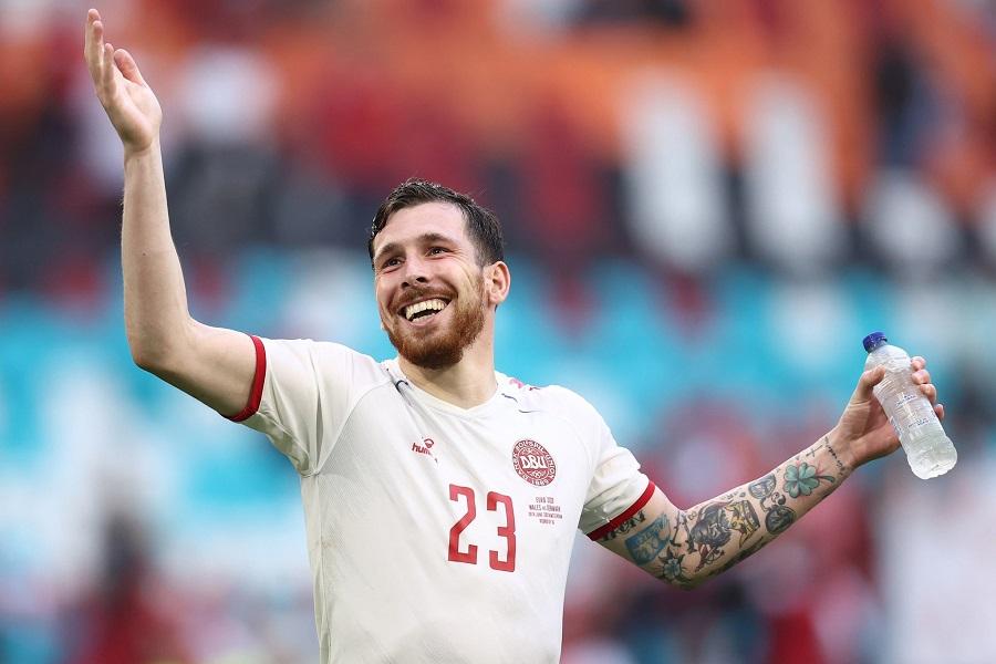 Trực tiếp CH Séc vs Đan Mạch: Soucek so tài Hojbjerg