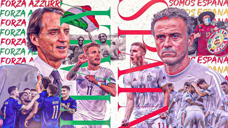 Trực tiếp Ý vs Tây Ban Nha: Kinh điển châu Âu