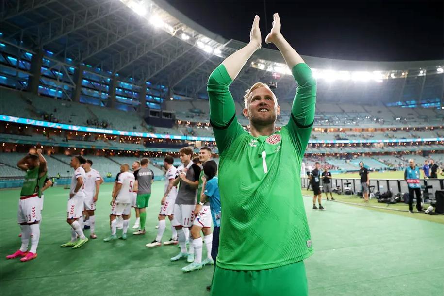Đan Mạch tập đá penalty, sẵn sàng mọi tình huống trước tuyển Anh