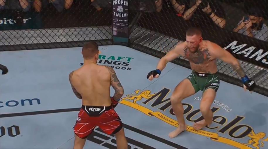 Kết quả UFC 264: Conor chấn thương chân kinh hoàng, Dustin thắng TKO