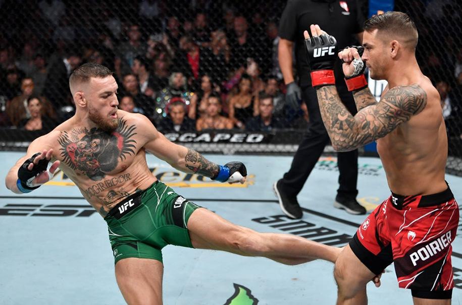 Conor McGregor xuất hiện sau phẫu thuật, phủ nhận chiến thắng của Dustin Poirier