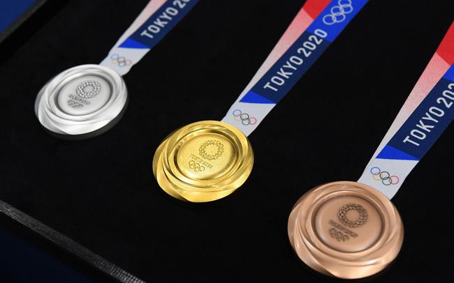 Bảng tổng sắp huy chương Olympic Tokyo 2021 mới nhất