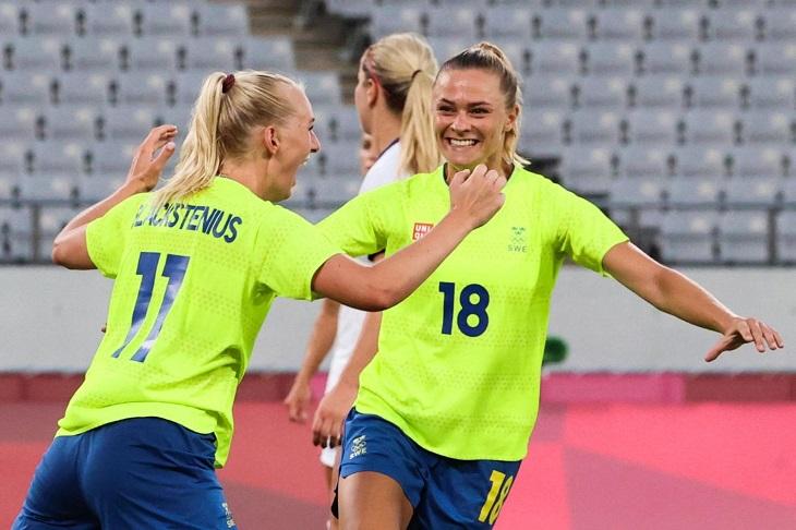 Trực tiếp bóng đá nữ Thụy Điển vs nữ Úc, Olympic 2021