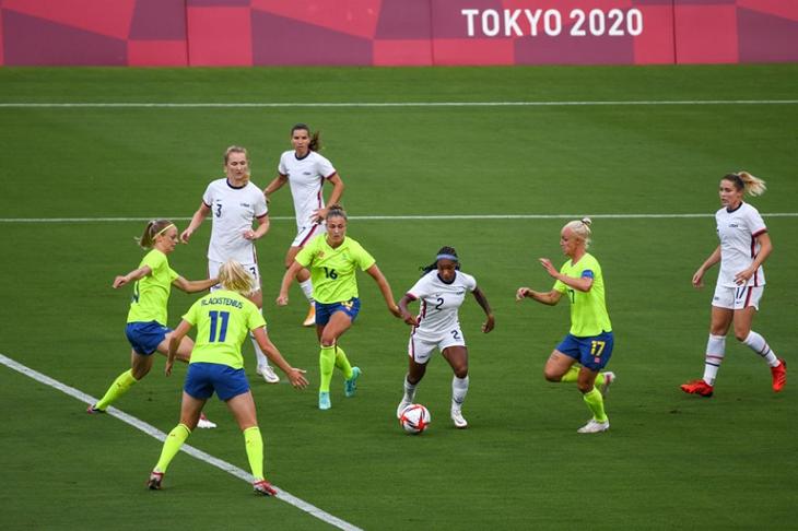 Trực tiếp bóng đá nữ New Zealand vs nữ Mỹ, Olympic 2021
