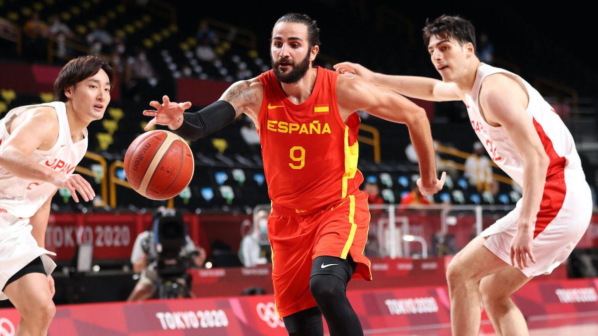 Ricky Rubio toả sáng, ông lớn Tây Ban Nha khởi đầu thuận lợi tại Olympic