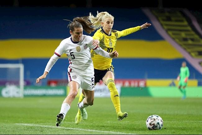 Trực tiếp bóng đá nữ New Zealand vs nữ Thụy Điển, Olympic 2021