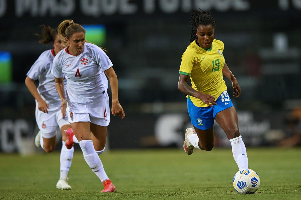 Trực tiếp bóng đá nữ Canada vs nữ Brazil, Olympic 2021
