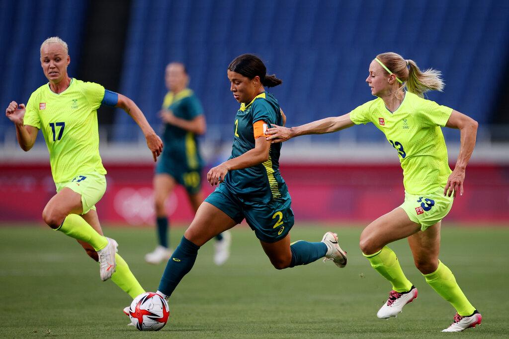 Trực tiếp bóng đá nữ Úc vs nữ Thụy Điển, bán kết Olympic 2021