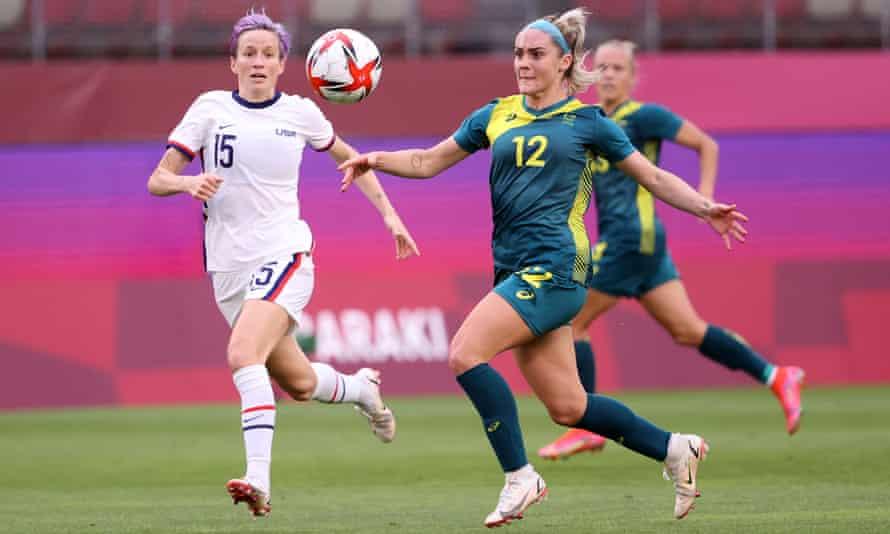 Kết quả nữ Úc vs nữ Mỹ: Nữ Mỹ giành HCĐ Olympic Tokyo 2021