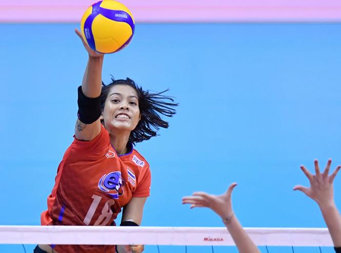 Sao bóng chuyền Thái Lan - Atcharaporn Kongyot chính thức tới châu Âu