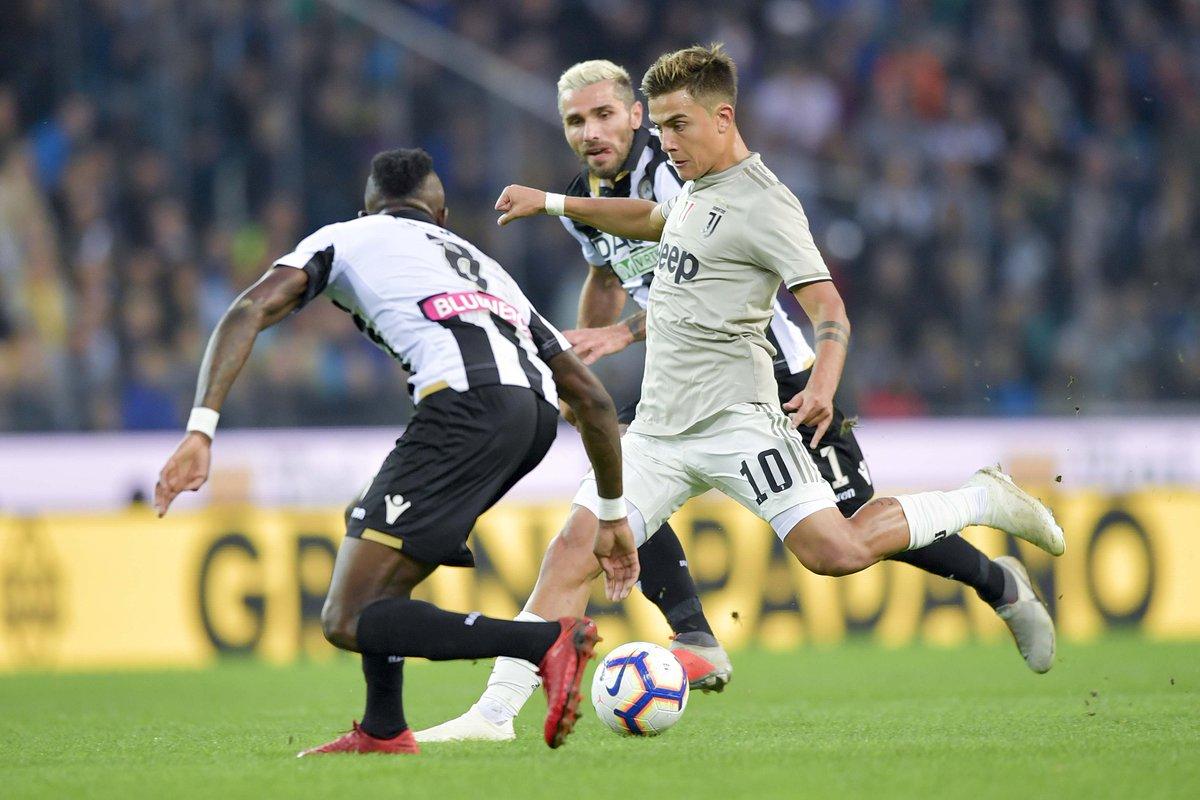 Trực tiếp bóng đá Udinese vs Juventus trên kênh nào?