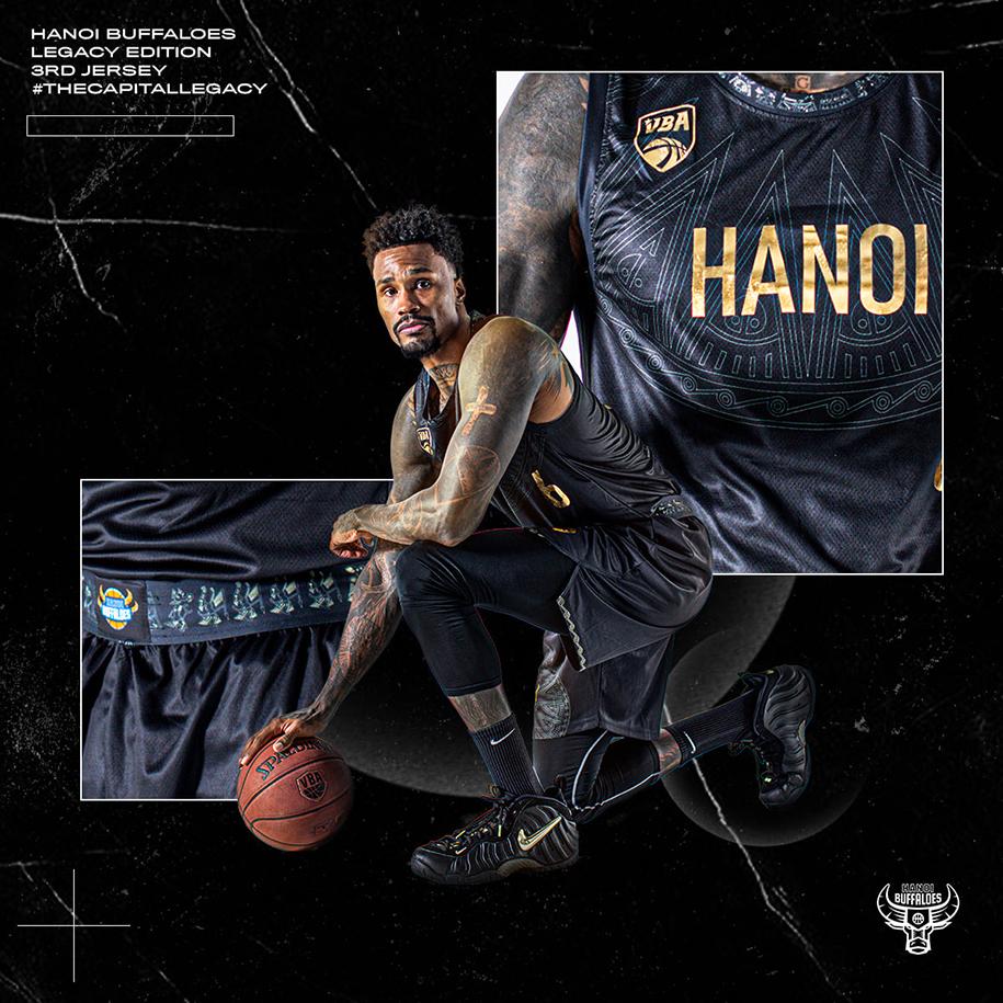 """Hanoi Buffaloes tung áo đấu """"Legacy Edition"""": Cảm hứng Trống Đồng-soi cầu ku casino-đánh bài online đổi thẻ điện thoại-TB88"""
