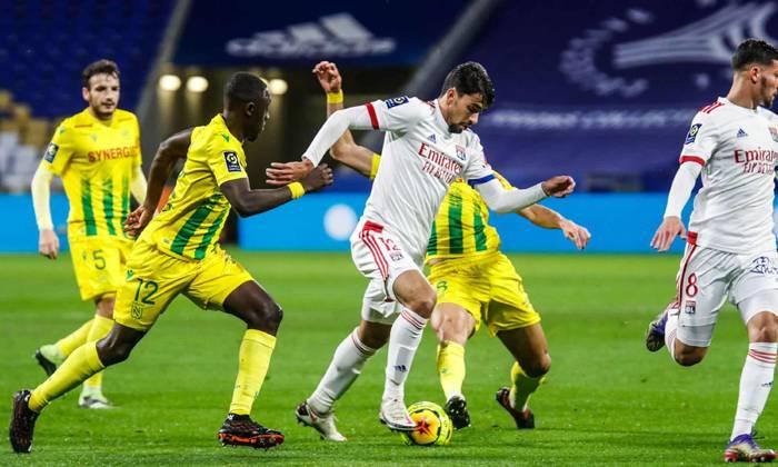 Trực tiếp bóng đá Nantes vs Lyon trên kênh nào?