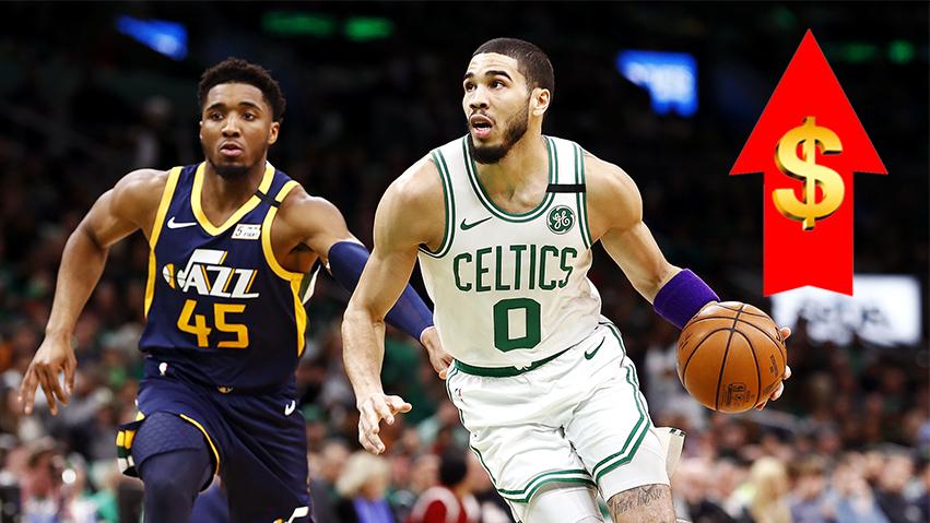 Top 10 cầu thủ được tăng lương nhiều nhất mùa NBA 2021-22