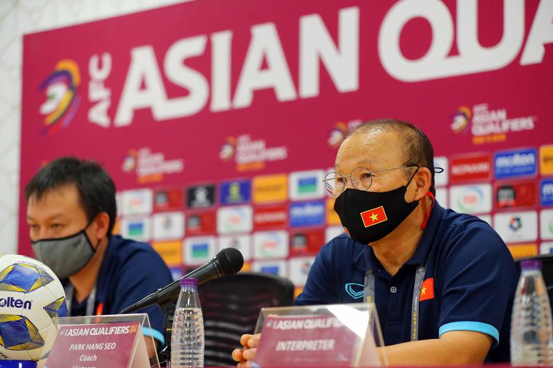 Ông Park lý giải tình huống tức giận tranh cãi với HLV Saudi Arabia