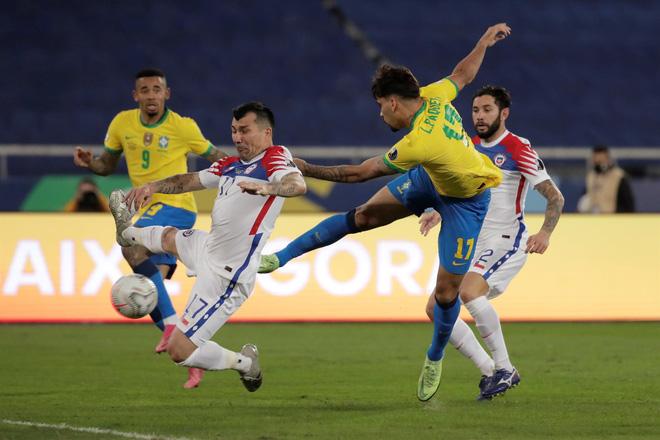 Trực tiếp Chile vs Brazil, vòng loại World Cup 2022