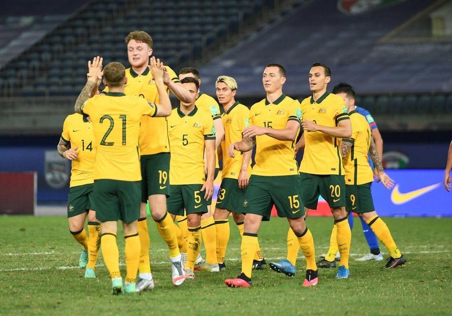 Đội hình tuyển Australia mang