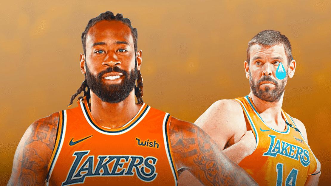 Tại sao LA Lakers chọn DeAndre Jordan thay vì Marc Gasol?